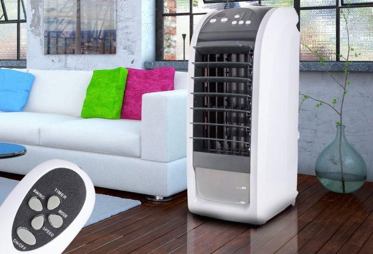 Mozgatható mobil léghűtő 70 W