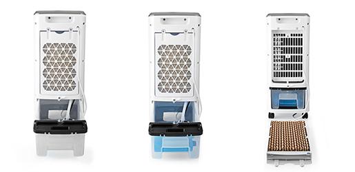 Távirányítós mobil léghűtő 80W