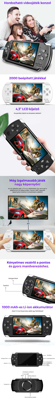 Hordozható videojáték konzol