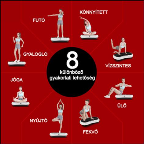 VibroTech - Vibrációs tréner