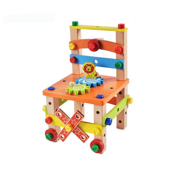 Montessori építőkészlet gyerekeknek